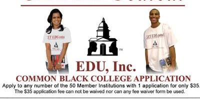 #CAP Workshop:  Common Black College Application with Robert Mason
