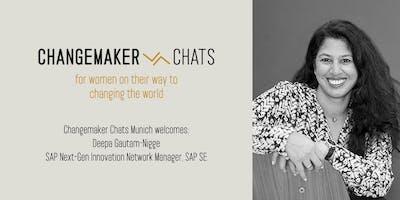 Changemaker Chats Munich Launch – with Deepa Gautam-Nigge, SAP
