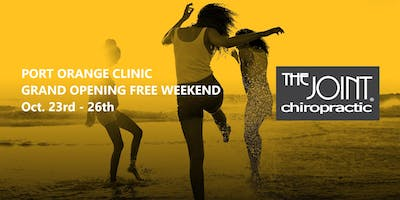 The Joint Chiropractic Port Orange GRAND OPENING FREE WEEKEND