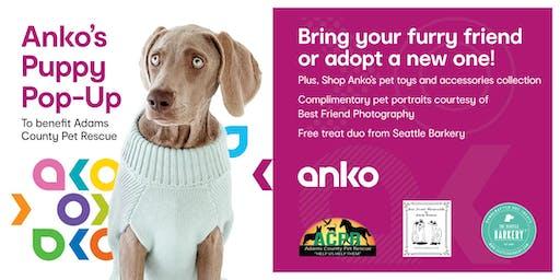 Anko's Puppy Pop-Up Benefit