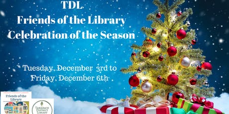 TDL Friends of the Library Celebration of the Season tickets