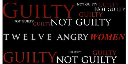 Twelve Angry Women - Saturday, November 23rd @ 5PM