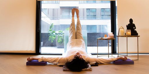Restorative Yoga: Come and Let Go