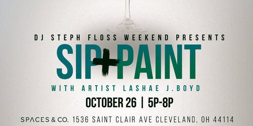 Sip and Paint W/ Lashae J. Boyd