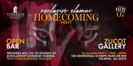 Tuskegee Exclusive Alumni Homecoming Party in Atlanta- Party with a Purpose  tickets
