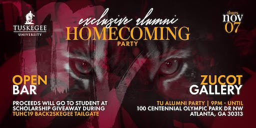 Tuskegee Exclusive Alumni Homecoming Party with a Purpose in Atlanta