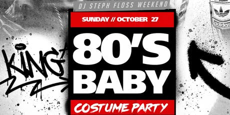 80's Baby Costume Party tickets
