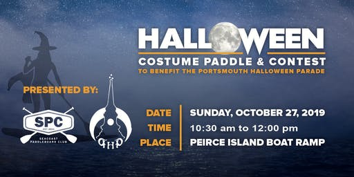 Portsmouth Halloween Costume Paddle Contest