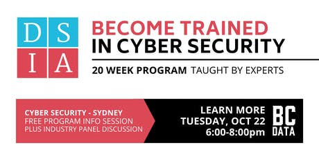 Career Change to Cyber Security in 20-weeks - Free Program Info Session - Sydney tickets