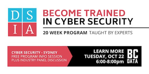 Career Change to Cyber Security in 20-weeks - Free Program Info Session - Sydney