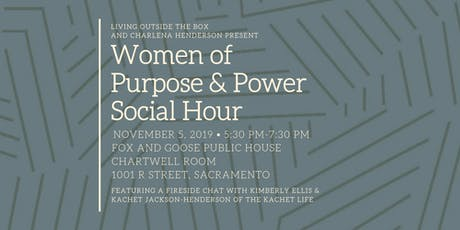 Women of Purpose & Power Social Hour tickets