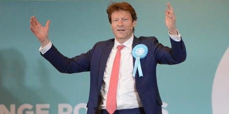 Richard Tice - Chairman of the Brexit Party Talk tickets