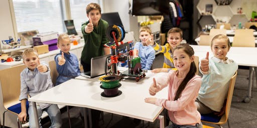 3D Printing STEAM Education Camp for Grade 1-8 Students (STRIKE CAMP)