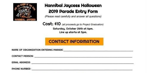 Hannibal Jaycees Halloween Parade