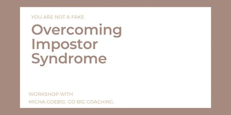 Overcoming Impostor Syndrome tickets