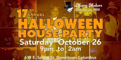 17th Halloween House Party at Merry Makers