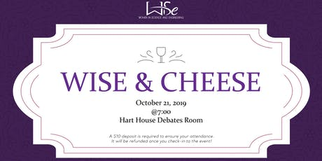 WISE and Cheese Fall tickets