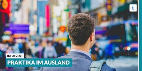 Ab ins Ausland: Infoevent zu Praktika im Ausland | Darmstadt Tickets
