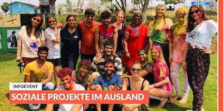 Ab ins Ausland: Infoevent zu sozialen Projekten im Ausland | Magdeburg Tickets
