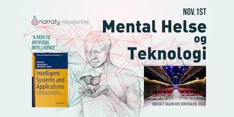 Mental helse og Teknologi tickets
