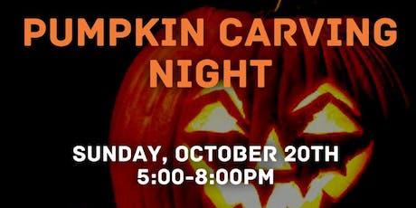 Cibo Pumpkin Carving Night  tickets