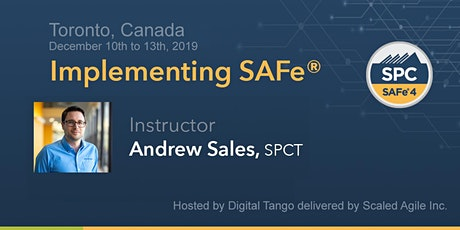 IMPLEMENTING SAFE 4.6 W/ SPC–TORONTO–**GUARANTEED TO RUN** tickets