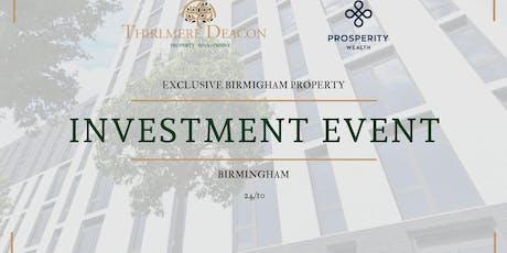 Birmingham Property Investment Event tickets