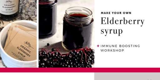DIY Elderberry Syrup and Immune System Support Workshop