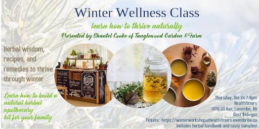 Winter Wellness Class with Shantel Cooke from Tanglewood