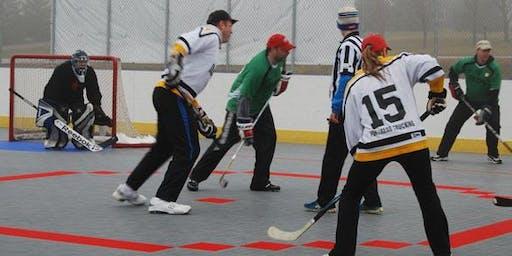Pickup Street Hockey at Greenwood Adventure Park