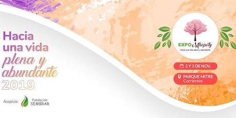 Expo MBopoty - Cuidar la Gestación es Promover la Paz Mundial entradas