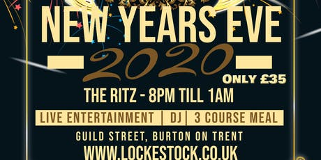 New Years Eve party at The Ritz tickets