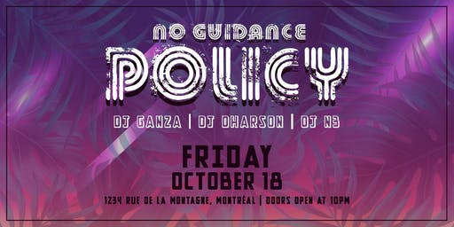 No Guidance Policy