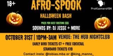 Afro-Spook tickets