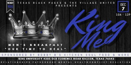 King Me - Men's Breakfast - Our Time To Heal tickets
