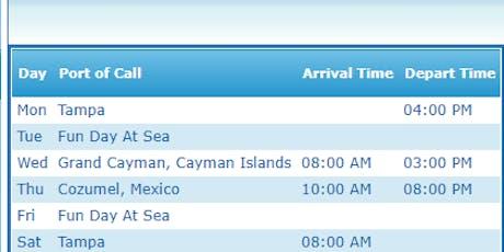Post Planning on the SHIP!! boletos