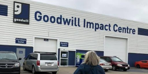 AMAZING Goodwill Impact Centre--Behind the Scenes Tour with #boombagsYEG