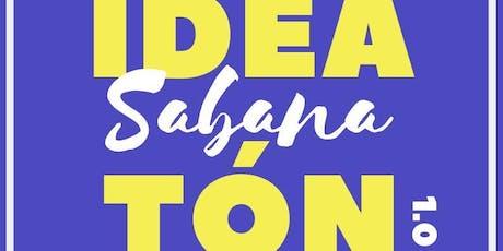 IDEATÓN SABANA 1.0 entradas