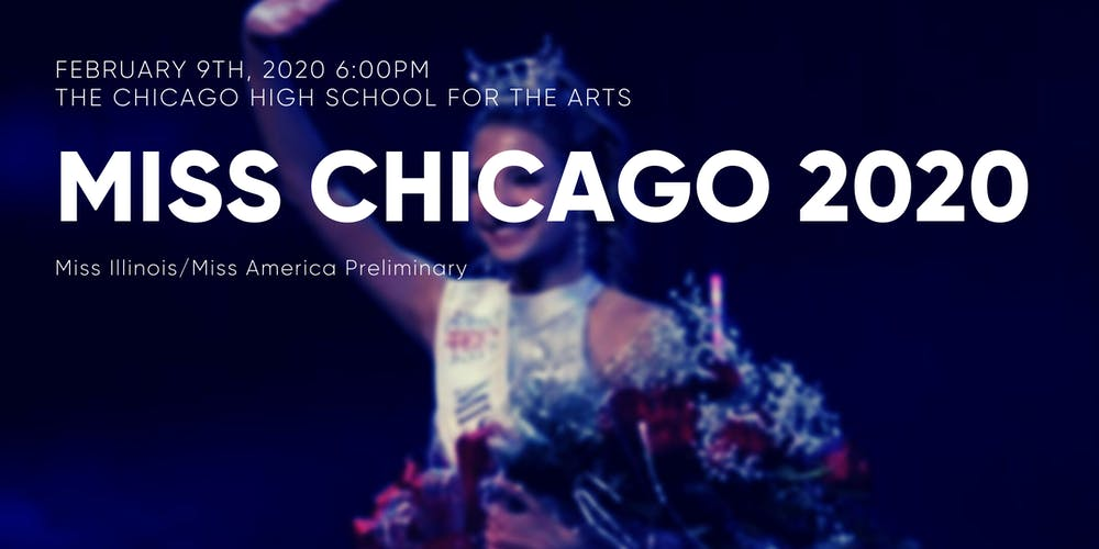 Events In Chicago February 2020.Miss Chicago 2020