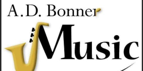 Adeebo Productions Showcase featuring A D Bonner Music  tickets