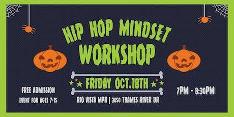 Hip Hop Mindset October Workshop tickets