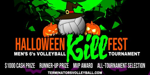Halloween Kill Fest Men's 6's Volleyball Tournament