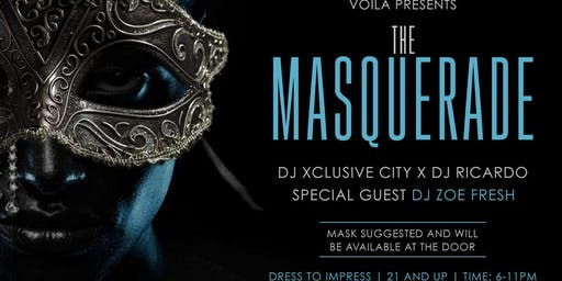 "Voila Presents: ""The MASQUERADE"""