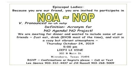 NOA NOP tickets