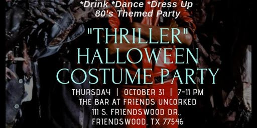 ATPresents 80'S Thriller Halloween Costume Party Drink, Dance, Dress-Up!