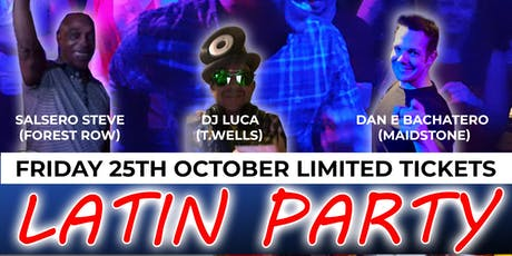 Latin Dance Party with Paella & Sangria tickets