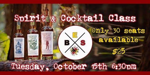 Suzie's & Redwood Empire Cocktail Class
