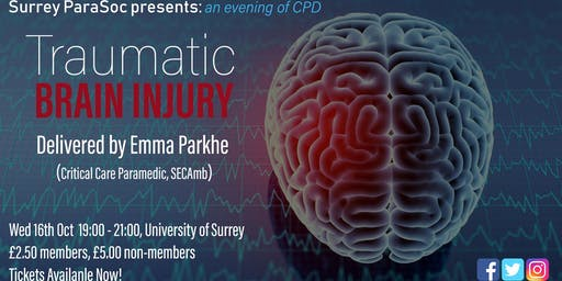 An evening of CPD: Traumatic Brain Injury