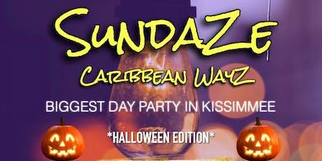 SUNDAZE CARIBBEAN WAYZ tickets