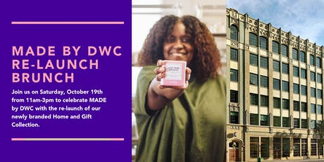 MADE by DWC Re-Launch Brunch tickets